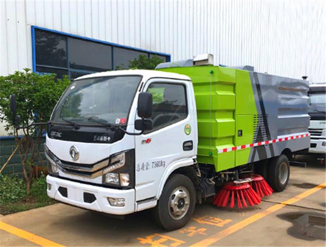 国六东风多利卡D6扫地车|道路清扫车